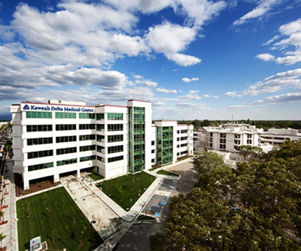 Kaweah Delta Medical Center is a 403-bed hospital in Visalia, CA