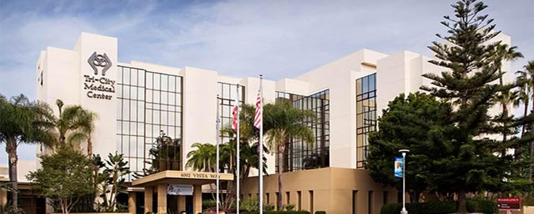 Founded in 1961, Tri-City Medical Center is a 397-bed hospital in Oceanside, CA